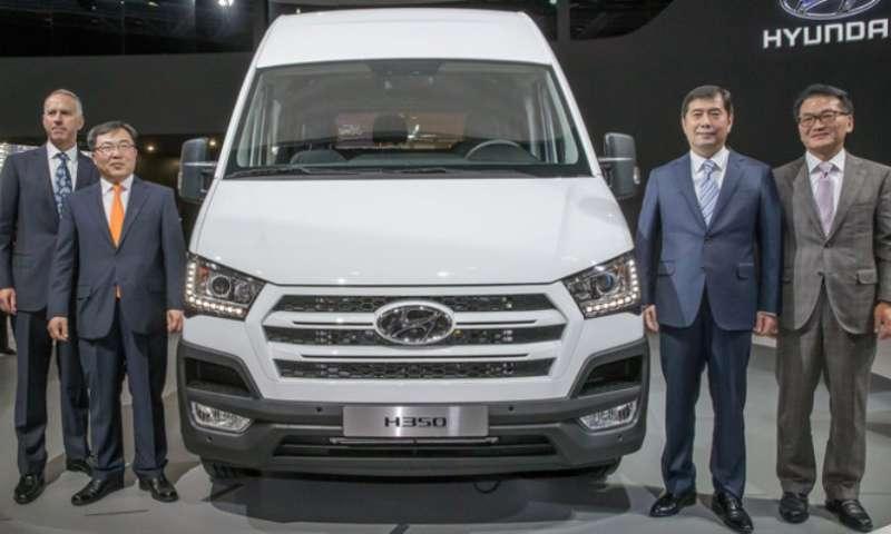 Hyundai Motor starts production of H350 in Europe