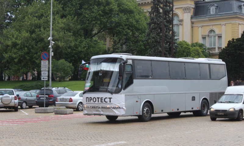 Планирано протестно шествие на автобусните превозвачи на 26 април