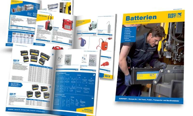 Европарт пуска нова брошура за акумулаторна компетентност