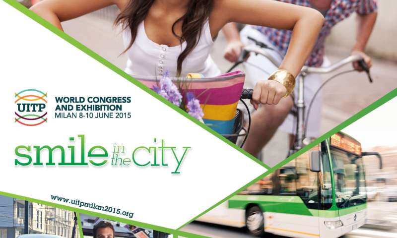 UITP World Congress and Exhibition – SMILE IN THE CITY