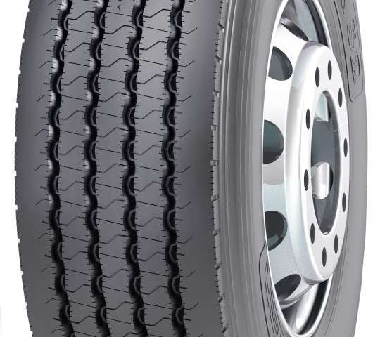 The new Nokian NTR 52 steer axle tyre remains reliable for longer