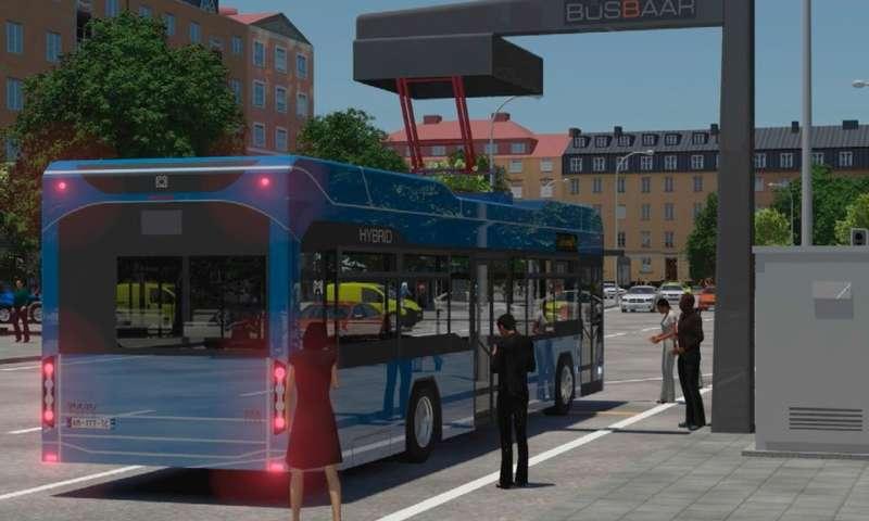 Световна премиера на автоматичната зарядна станция за автобуси и камиони Opbrid Bůsbaar V3 на изложението IAA