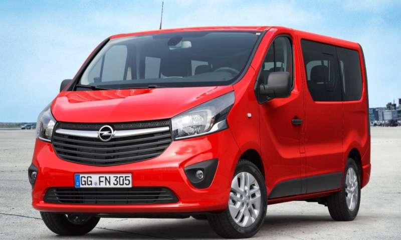 Новият Opel Vivaro Combi