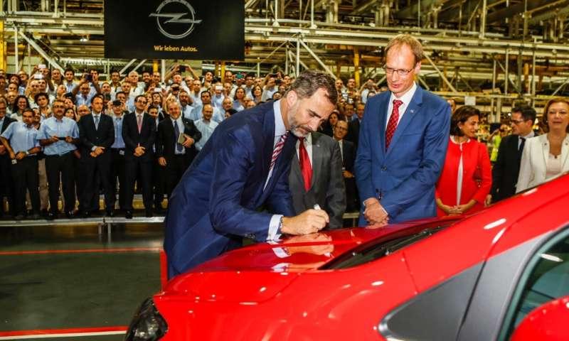 Първият Opel Mokka излезе от производствената линия в Сарагоса