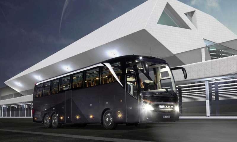 Представяне на нови туристически автобуси Mercedes-Benz Tourismo K и Setra 517 HDH в София