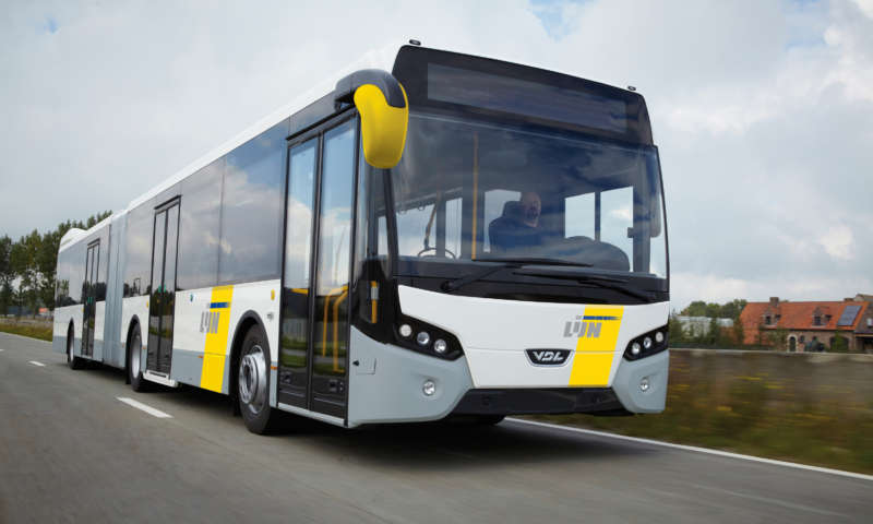 Belgian passenger transport company De Lijn has placed another large order with VDL Bus & Coach