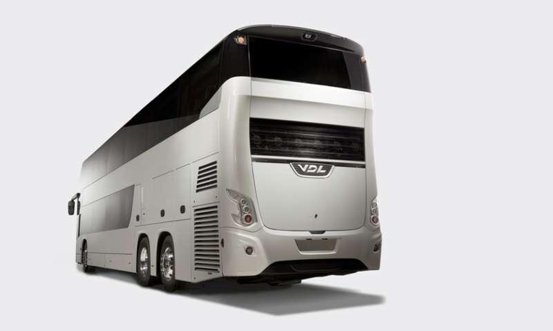 2015 година: Три световни премиери на  VDL Bus and Coach
