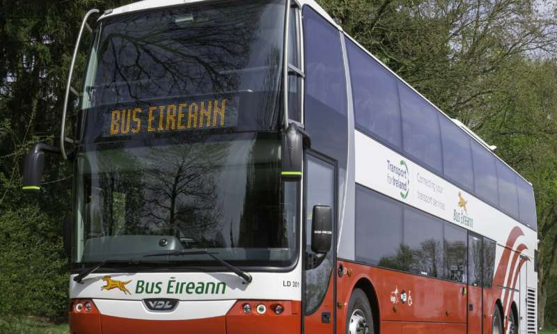 VDL Synergy double deck coaches for Bus Éireann
