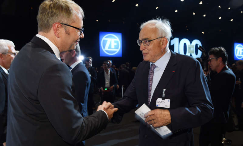 ZF Celebrates its 100th Anniversary