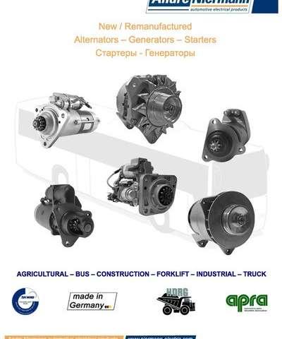 Andre Niermann: New / Remanufactured Alternators