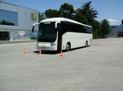 The best bus driver for 2009 in Bulgaria