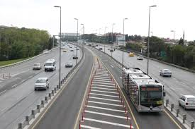 BRT system in Istanbul - details of the project