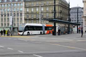 Швейцарски стандарт в градския транспорт на Женева