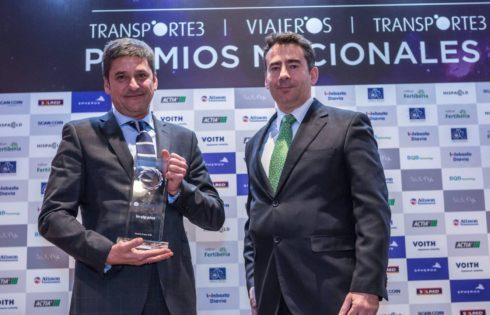 """INTEGRALIA получава наградата """"Минибус на годината"""" за 2016 година в Испания за новия си in-vip plus"""
