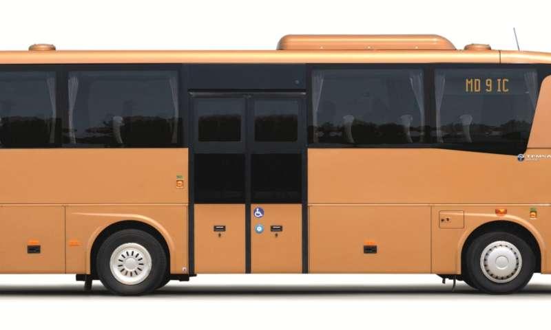 Междуградски автобус Темса MD9 IC MAN Euro 6